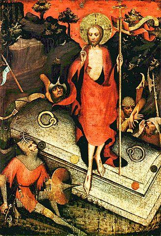 Воскресение Христово (створка Тржебоньского алтаря)