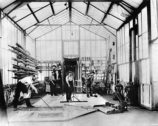 Melies's Montreuil studio