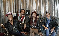 Melouria im Interview mit Promiflash.de (2012)