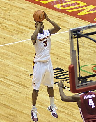 Melvin Ejim - Ejim playing for Iowa State in January 2011