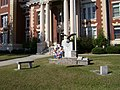 Memorial in front of Turner County Courthouse.JPG