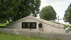 Zboriv - Memorial of the Czechoslovak Legion in Battle of Zboriv, 1917