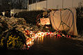 Memorial to November 2015 Paris attacks at French embassy in Moscow 21.jpg