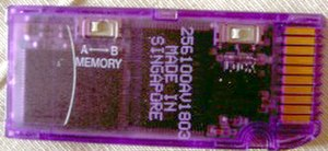Memory Stick - Lexar 256 MB Memory Stick Select with memory switch.
