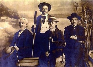 Mendele Mos Sholem Aleichem Ben-Ami Bialik Odessa 1910