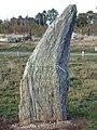 Menhir de la file sud des alignements du Moulin sur les Landes de Cojoux - Saint-Just, Ille-et-Vilaine, France - 20111113.jpg