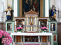 Merazhofen Pfarrkirche Hochaltar Mensa Tabernakel.jpg