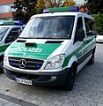 Mercedes-Benz-Polizeivan in München, 2010.JPG