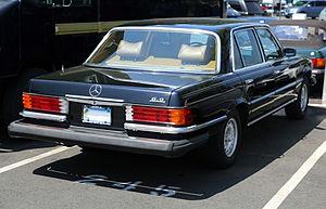 Mercedes-Benz W116 - US market 450 SEL 6.9