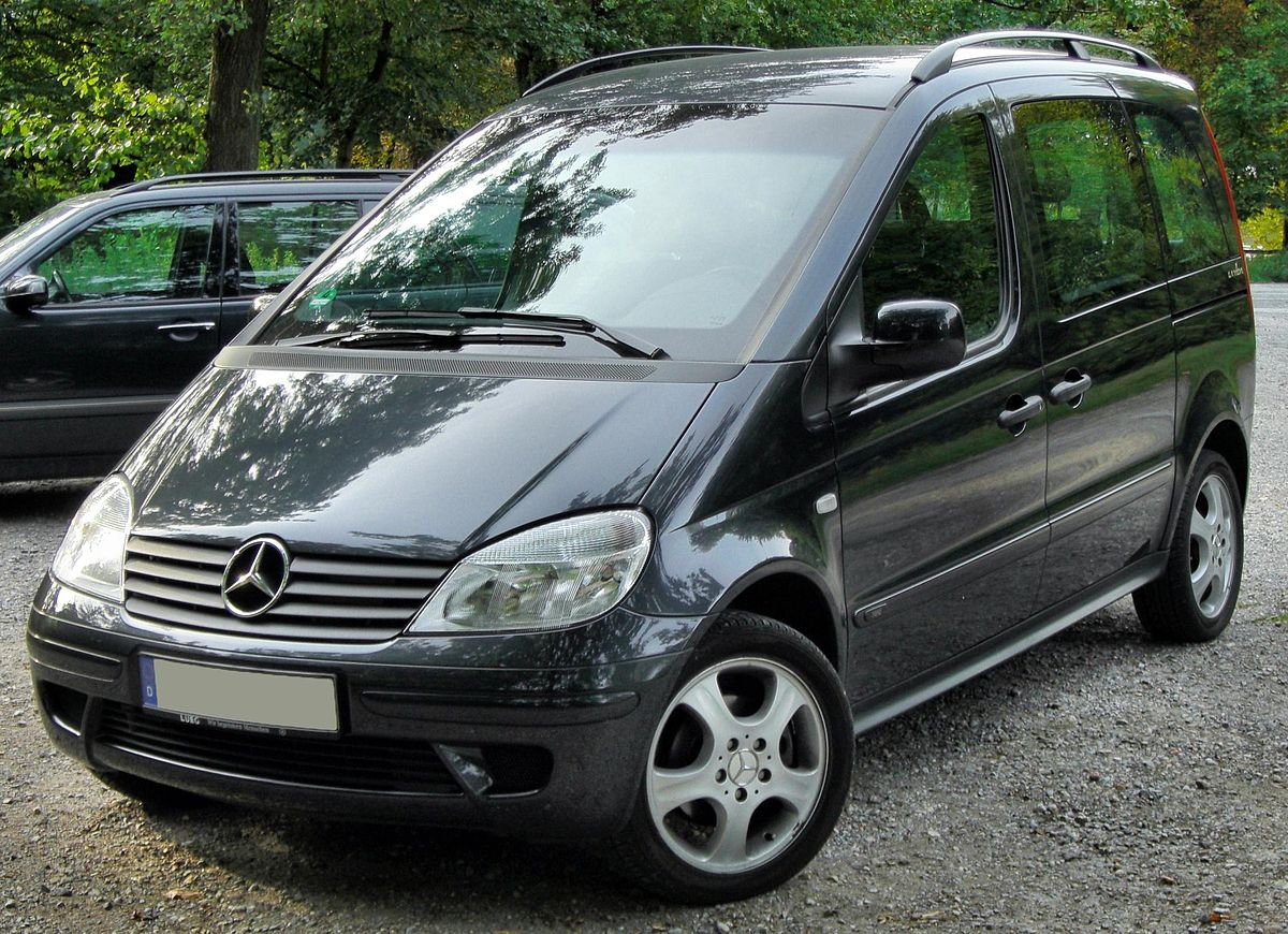 mercedes benz vaneo wikipedia