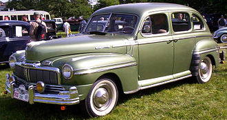 Mercury (automobile) - Mercury Town Sedan 1947