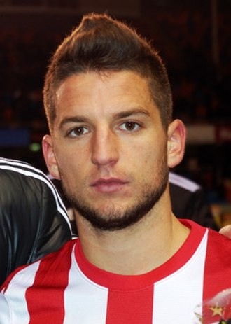 Dries Mertens - Mertens played for Dutch side PSV Eindhoven between 2011 and 2013.