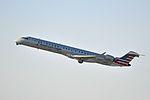 Mesa Airlines, Canadair CRJ-900, N943LR - LAX (18876657089).jpg