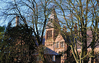 Methodist College Belfast - Methodist College, as seen from the Malone Road