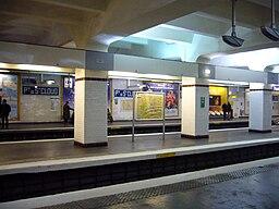 Metro Paris - Ligne 9 - Porte de Saint Cloud