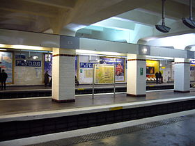 Image illustrative de l'article Porte de Saint-Cloud (métro de Paris)