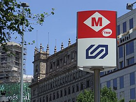Image illustrative de l'article Métro de Barcelone