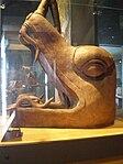 Mexico - Museo de antropologia - Tête de serpent.JPG