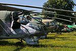Mi-24 Hind, Mi-8 Hip, Czech Air Force Museum, Prague-Kbely Airbase (29079030372).jpg