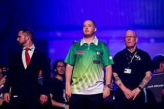 Steve Lennon Irish darts player