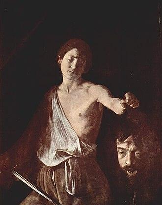 1610 in art - Image: Michelangelo Caravaggio 018