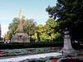 Mihai Eminescu's bust in Copou Garden 2.jpg