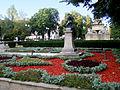 Mihai Eminescu's bust in Copou Garden 4.jpg