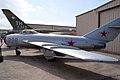 Mikoyan-Gurevich MiG-17F Fresco-C LSide CFM 7Oct2011 (15324845862).jpg