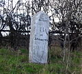 Milestone at Miles Cross on the A35 - geograph.org.uk - 365124.jpg