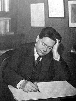 Darius Milhaud in Parijs (ca. 1926)