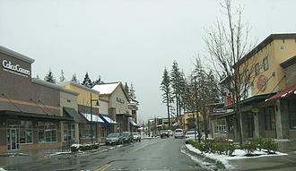 Mill Creek, Washington - Street in the Mill Creek Town Center