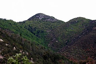 Carr Peak - Miller Canyon and Carr Peak