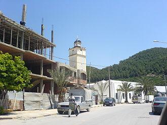 Nefza - Image: Minaret Mosquee Nefza