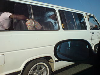 Taxi wars in South Africa - Minibus taxi