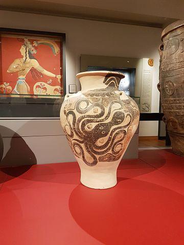 Minoan marine ware pithos