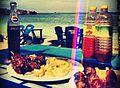 Mishkaki at Coco Beach, Oysterbay..jpg