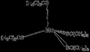 Tert-Butylthiol - Mo(t-BuS)4