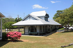 Mobile and Ohio Railroad Depot at Citronelle, Alabama 07.JPG