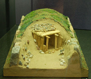 Oldendorfer Totenstatt - Model of Site III