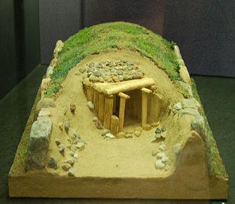 Oldendorfer Totenstatt - Model of Site III