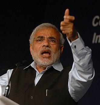 2007 Gujarat Legislative Assembly election - Image: Modi WEF