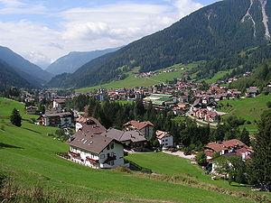 Moena - Image: Moena panorama