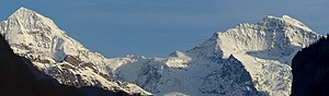 Sphinx Observatory - Image: Moench Jungfrau