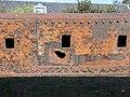 Molen Emmamolen Nieuwkuijk, roede De Prins van Oranje zijkant granaatscherfgat.jpg