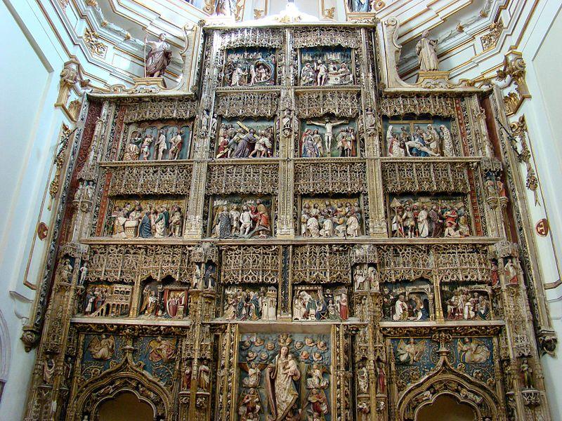 File:Monasterio de El Paular, Retablo Mayor III.jpg