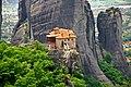 Monastery on the edge of the cliff, Greece - panoramio.jpg