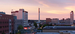Greater Moncton - Downtown Moncton skyline