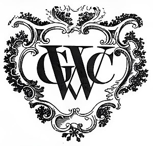 Essequibo (colony) - Image: Monogram WIC