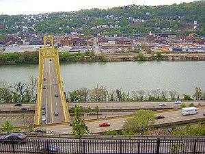 Monongahela River - Image: Monongahela River Pittsburgh