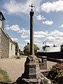 Mont-de-l'If (Seine-Maritime) croix du cimetière.jpg
